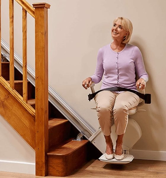 Straight stairlift